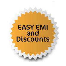 Easy EMI and Discounts